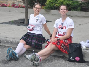 Lesson #1 of kilt wearing: keep your legs crossed
