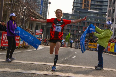 Canadian Olympian Eric Gillis is the Canada Running Series champ for the 2nd straight year.